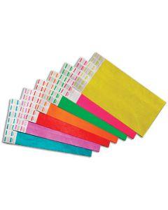 Neon Yellow 500 Ct Wristbands