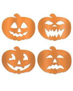 """14"""" Foil Pumpkin Cutouts"""
