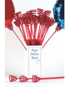 Red Magic Balloon Wand 40Ct