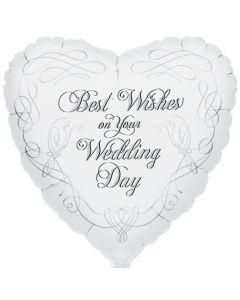 """9"""" Wedding Best Wishes"""