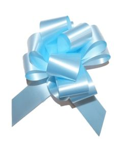 #5 Light Blue Pull Bow