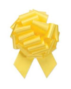 #9 Yellow Pull Bow