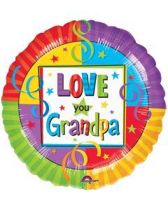 "18""Grandpa Love Pkg"