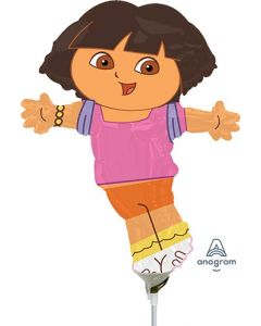 "14"" Dora The Explorer Inflated with Cup & Stick"