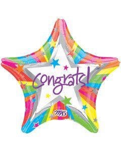 """19""""Rainbow Congrats Pkg"""