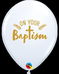 "11"" Baptism Cross 50ct"