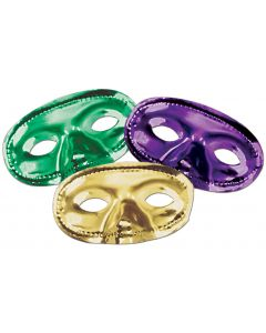 Metallic Mardi Gras Eye Mask