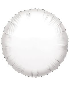 "18"" White Round"