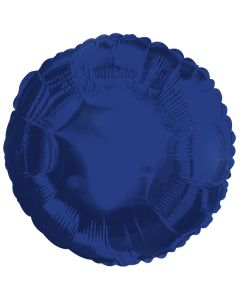 """18"""" Navy Blue Round"""