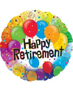 "18"" Retirement Balloons"