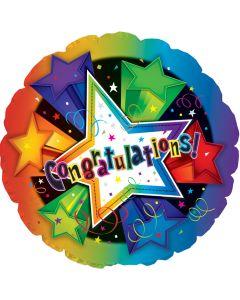 """18""""  Congrats 3-D Stars"""