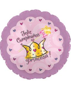 "18"" Feliz Cumpleanos Princesa"