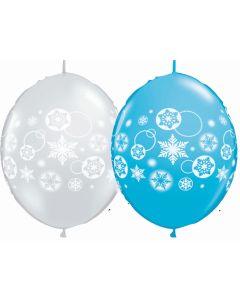 """12"""" Snowflakes & Circles QLink"""