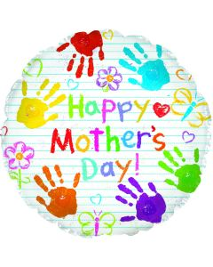 """18"""" Mother's Day Handprints"""