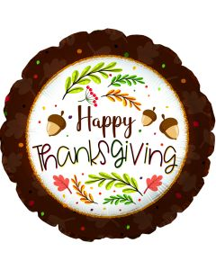 "18"" Thanksgiving Leaves & Acorns"