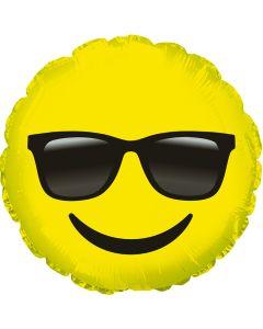 "9"" Smile w/ Glasses"