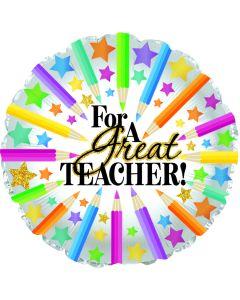 "9"" For A Great Teacher!"