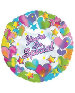 "9"" You're So Special Hearts Inflated with Cup & Stick"