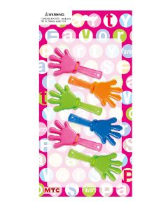 Mini Clapping Hands 6ct