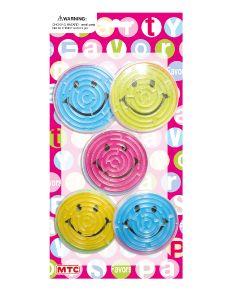 Smiley Labyrinth Balls  5ct
