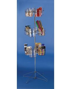 Spinner Rack - 12 Bucket Clear