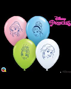 """5"""" Princess Faces Assort 100ct"""