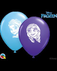 """5"""" Anna & Elsa Faces Assort 100ct"""