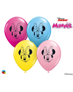 """5"""" Minnie Mouse Face Assort 100ct"""