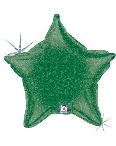 "21"" Green Holographic Star"