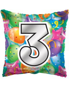 "18"" Balloons Square 3"