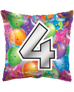 "18"" Balloons Square 4"