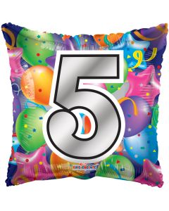"18"" Balloons Square 5"