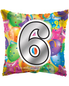 "18"" Balloons Square 6"