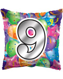 "18"" Balloons Square 9"