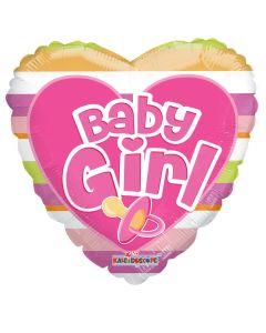 "18"" Baby Girl Pacifier"