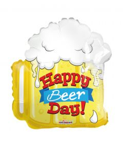 "18"" Happy Beer Day Shape"