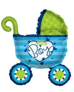 "36"" Baby Boy Stroller"