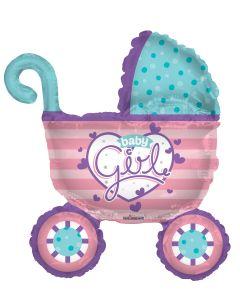 """36"""" Baby Girl Stroller"""