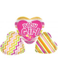 """36"""" Baby Girl Pink Pacifier"""