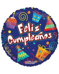 "18"" Feliz Cumpleanos Presents"