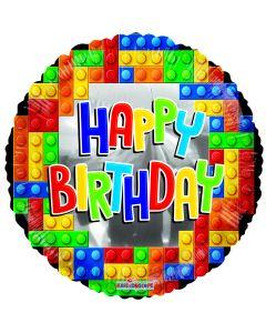 "18"" Birthday Party Blocks"