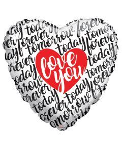 """36"""" Love Scribbles"""