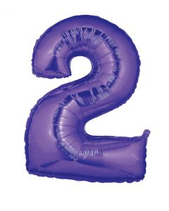 "40""#2 Purple Megaloon"