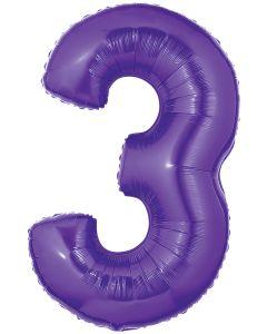 "40"" #3 Purple Megaloon"