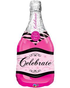 """39"""" Pink Bubbly Celebration"""