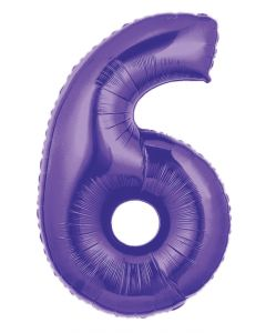 "40"" #6 Purple Megaloon"
