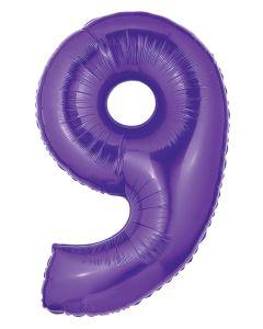 "40""#9 Purple Megaloon"
