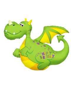"36""Happy B'day Dragon"