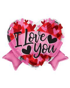 "18"" I Love You Banner"