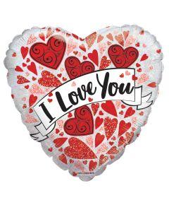 """9"""" Love Hearts Banner"""